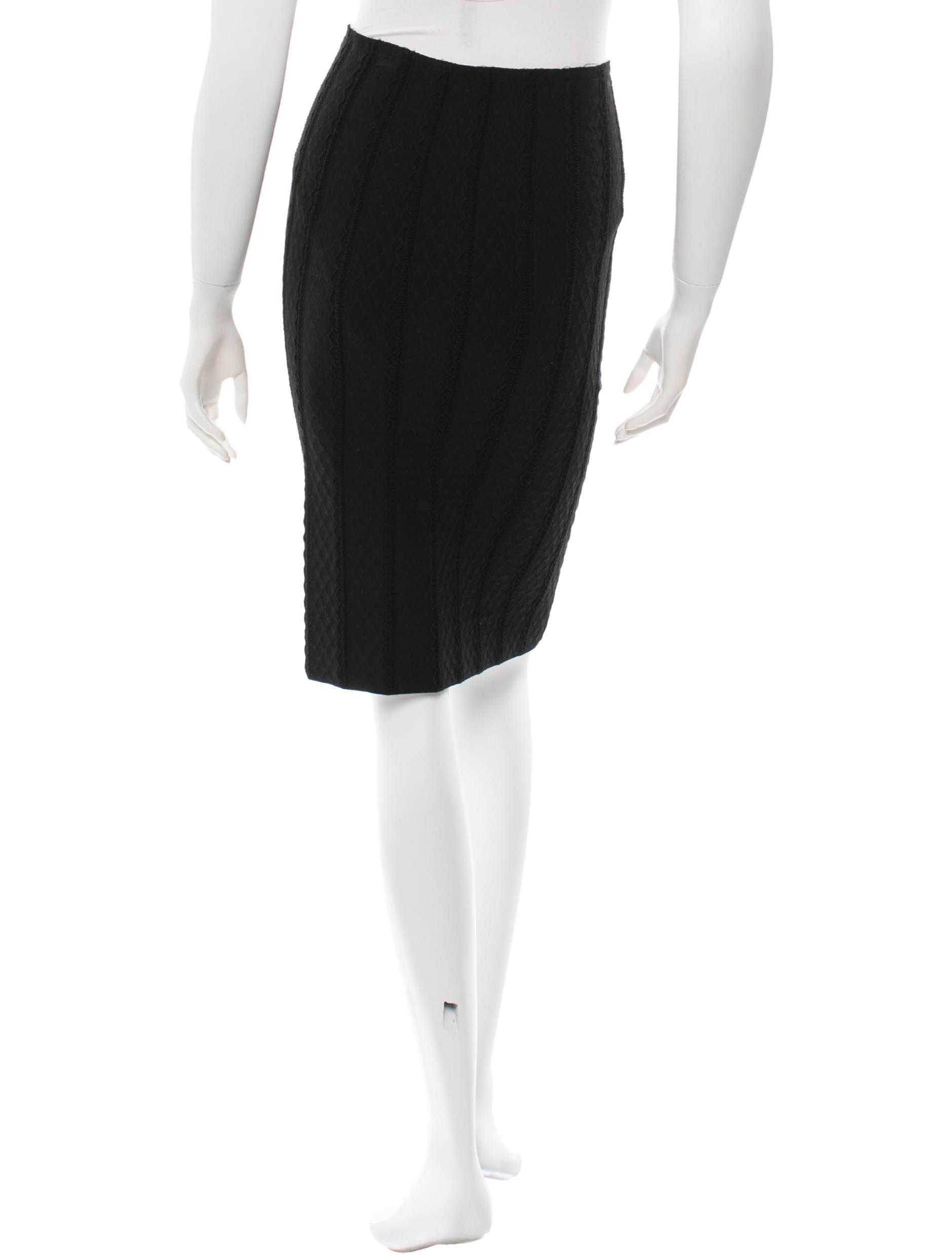 ala 239 a knee length bodycon skirt clothing al224898