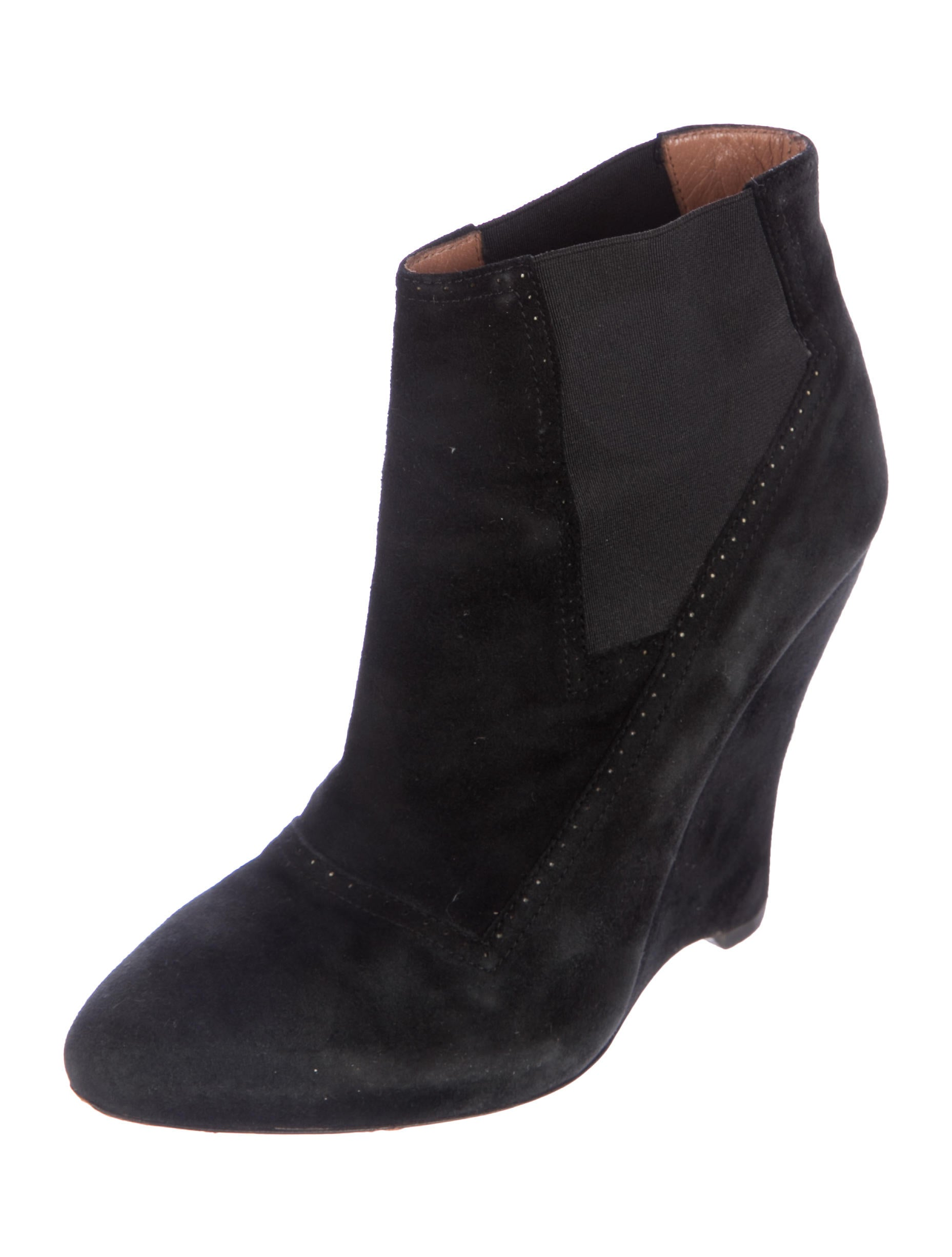 ala 239 a wedge ankle boots shoes al225011 the realreal