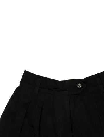 Casual Pleated Shorts