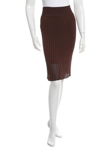 Alaïa Box Pleated Skirt