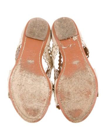 Studded Laser Cut Sandals