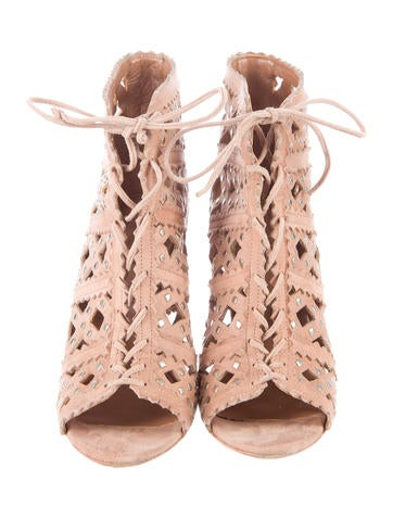 Studded Laser Cut Booties
