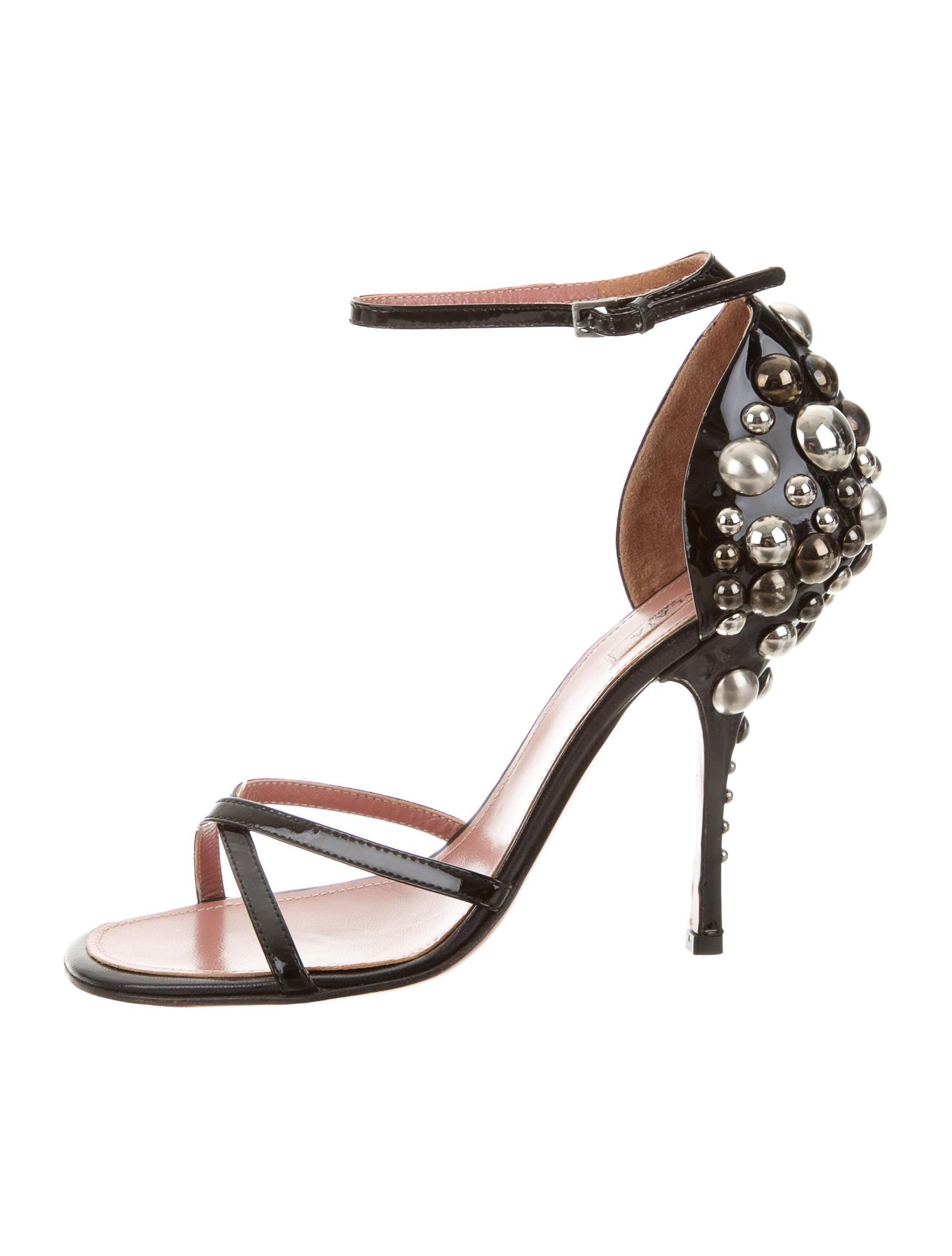 Alaïa Stud-Embellished Multistrap Sandals sale shop best deals outlet free shipping enjoy shopping cheap nicekicks gWVsruLA8