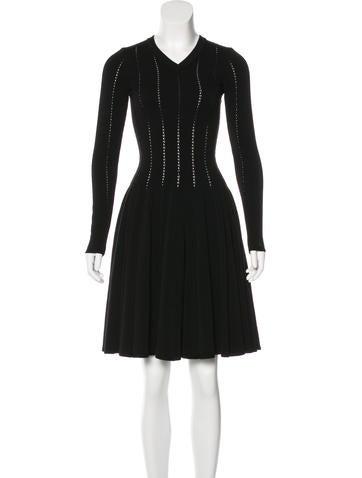 Alaïa Wool Fit and Flare Dress w/ Tags