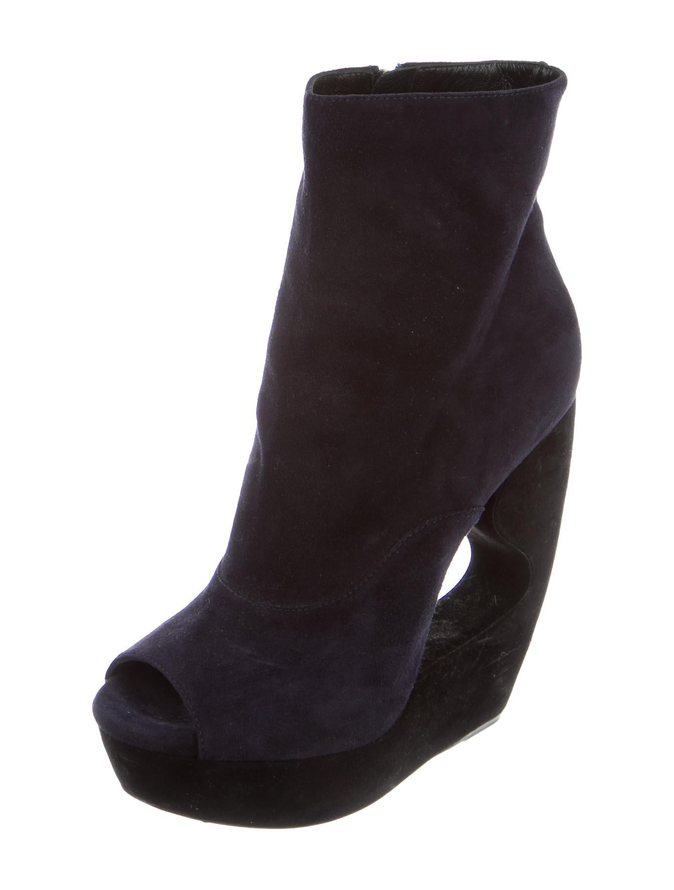 ala 239 a suede wedge ankle boots shoes al227953 the