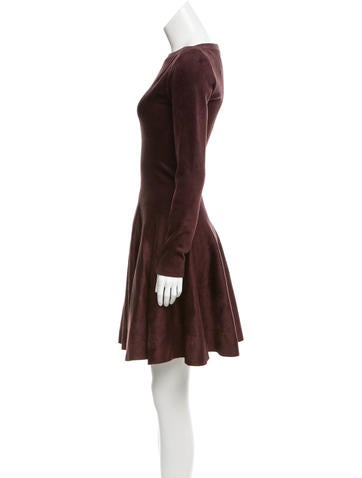 Mini Fit and Flared Dress