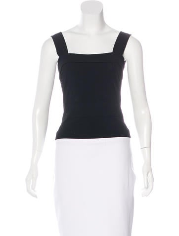 Alaïa Sleeveless Cropped Top None