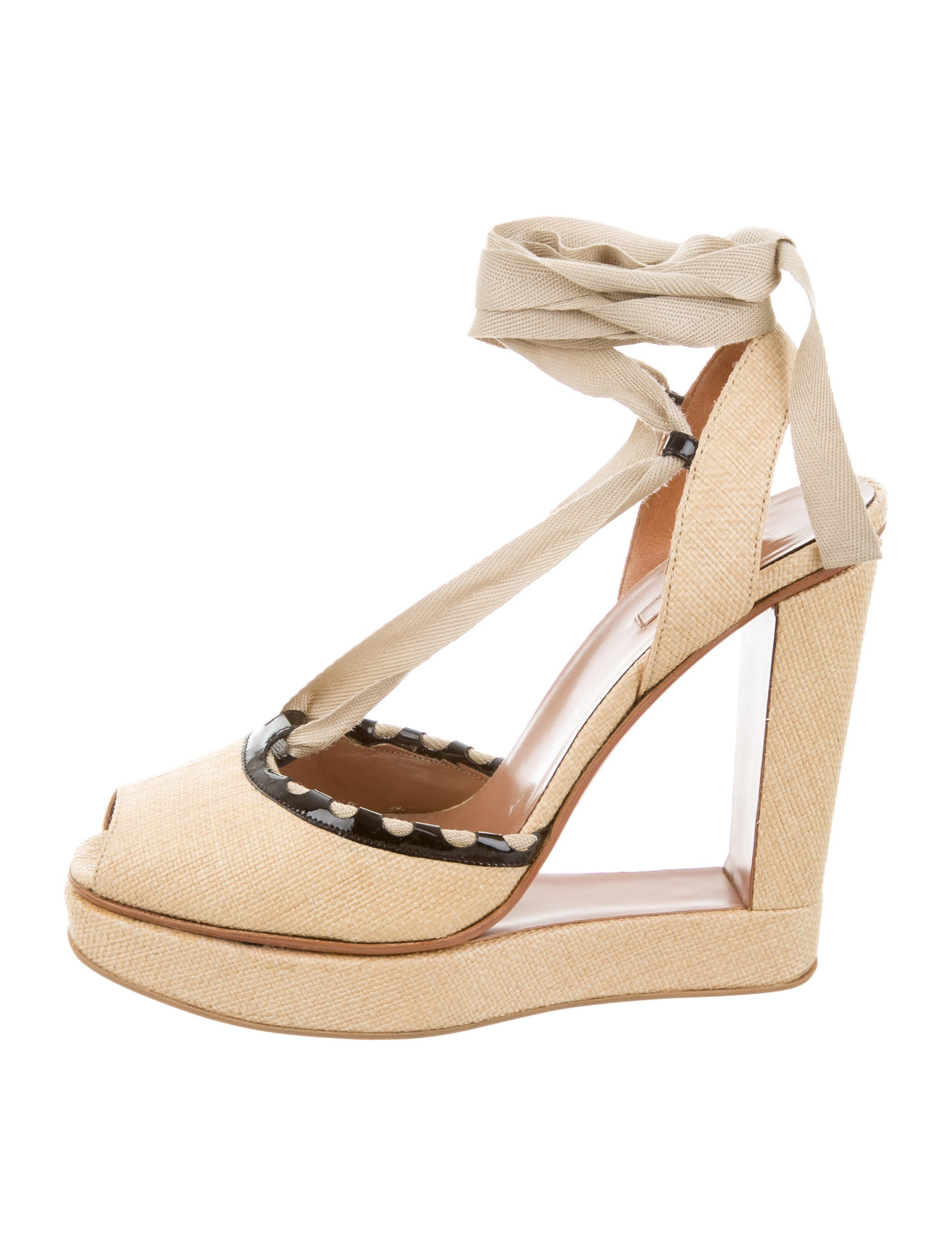 new Alaïa Fluid Wedge Sandals free shipping release dates outlet amazon cheapest price cheap price 5565EkfakL