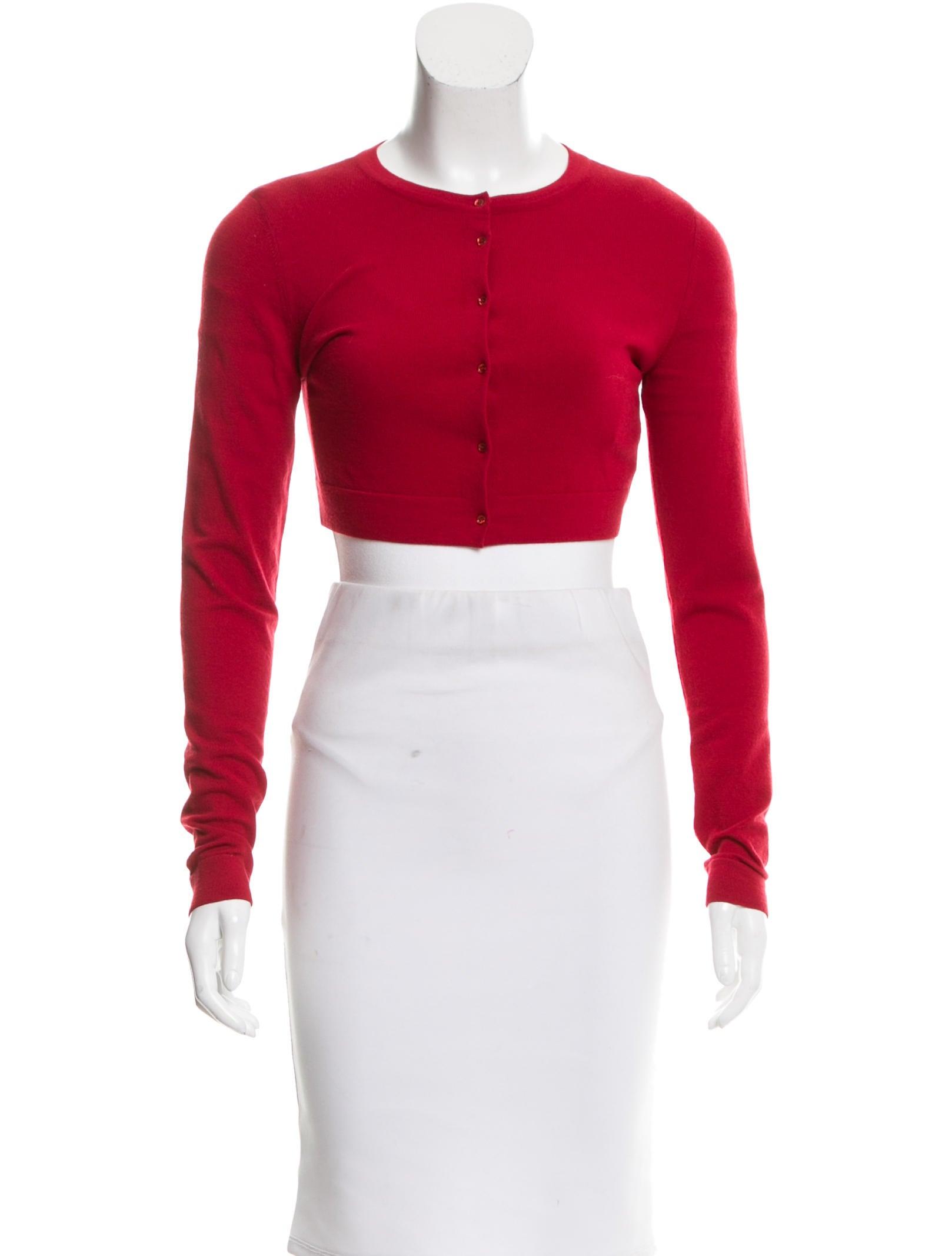 Wool Cropped Cardigan 119