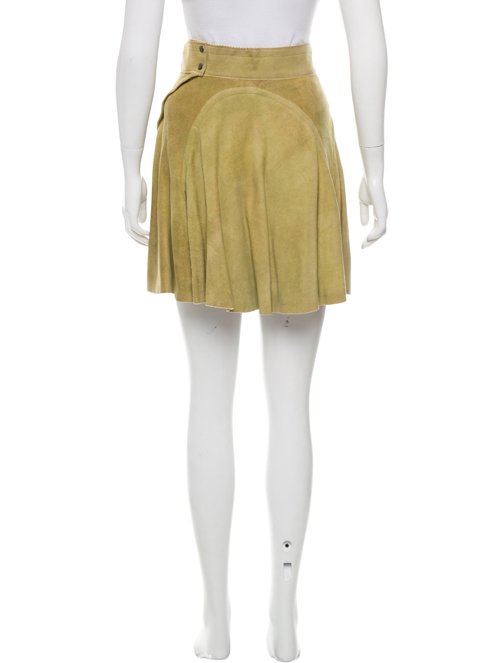 ala 239 a leather mini skirt clothing al229201 the realreal