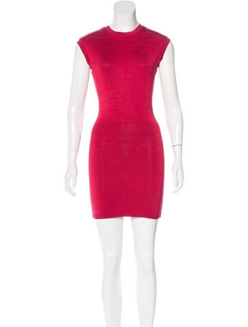 Alaïa Sleeveless Bodycon Dress None