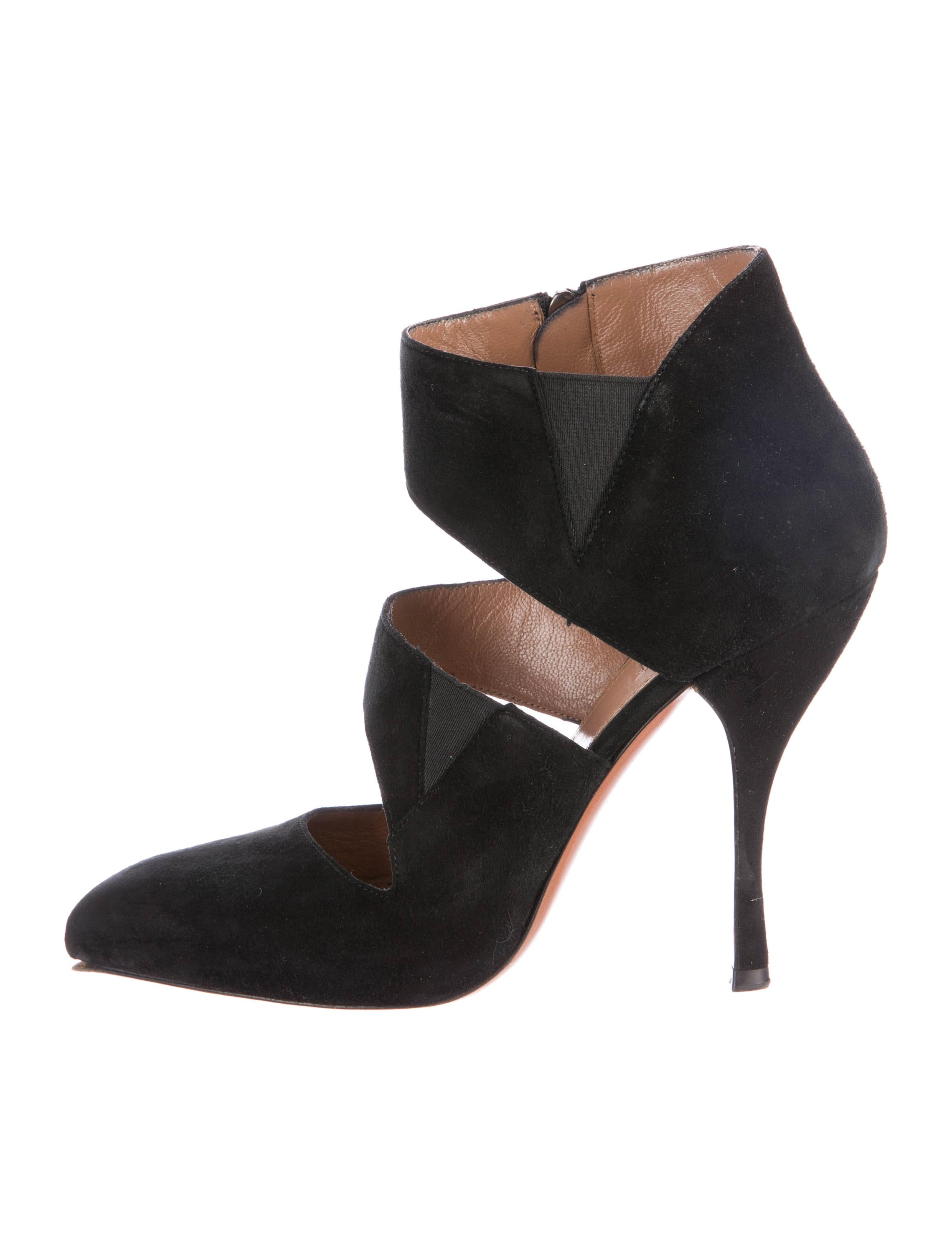 outlet sast discount professional Alaïa Pointed-Toe Leather Pumps IKz3MUQ