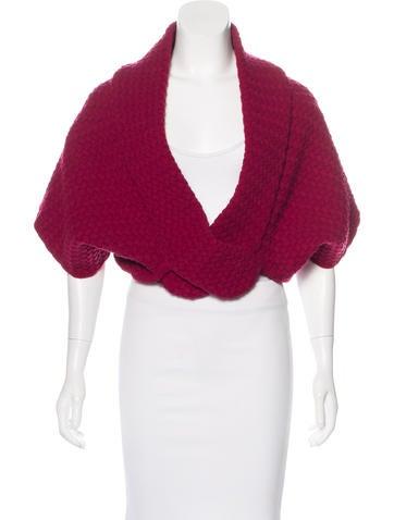 Alaïa Wool Knit Cardigan None
