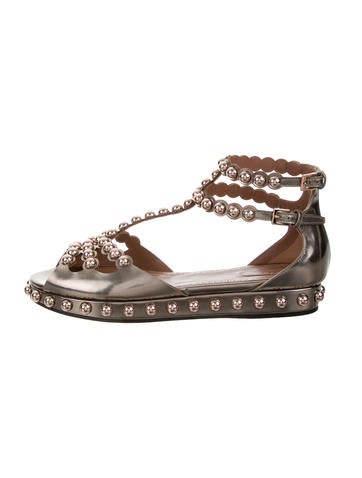 outlet big discount online shop from china Alaïa Metallic Studded Sandals w/ Tags pay with paypal for sale outlet best place RPOX9Y2t