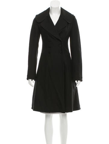 Alaïa Fitted Double-Breasted Coat None