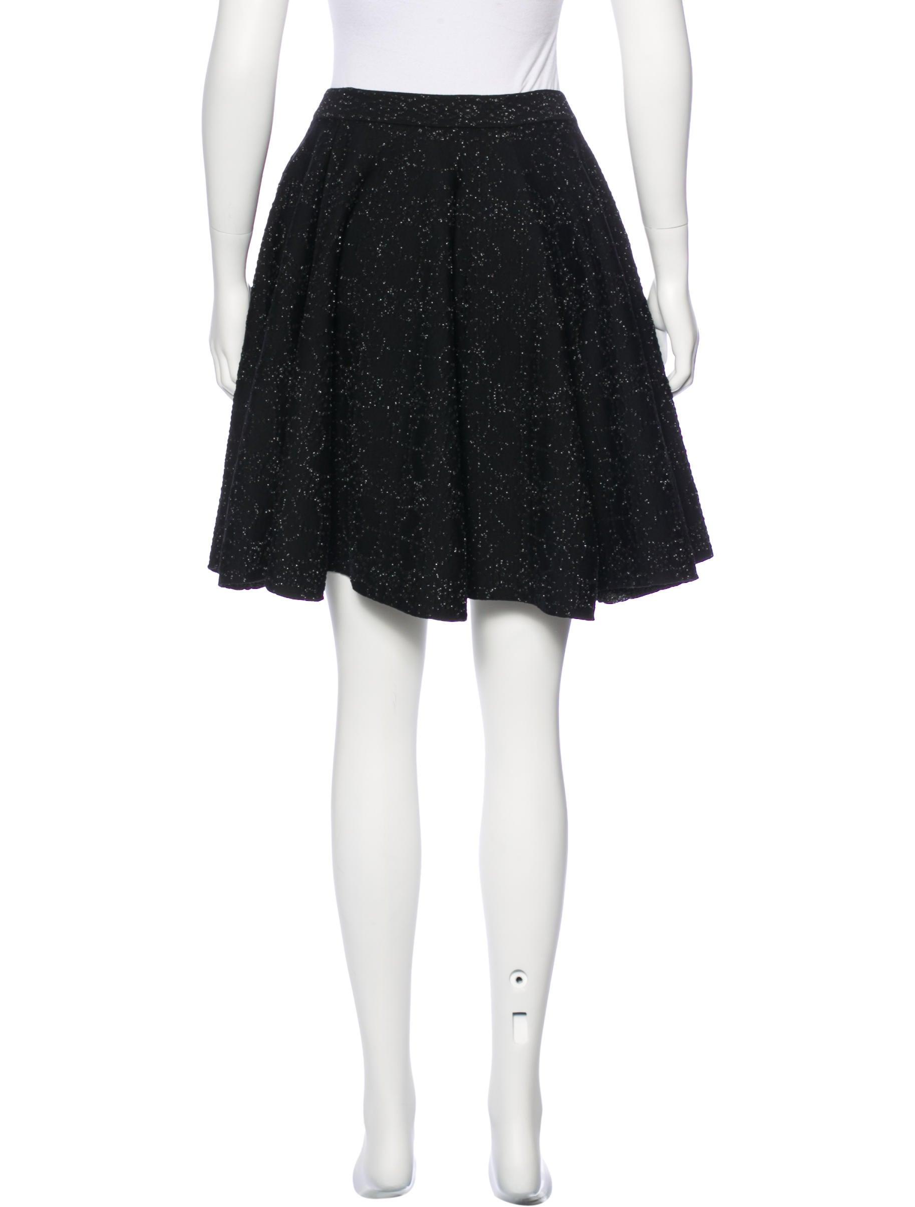 ala 239 a metallic a line skirt w tags clothing al231615