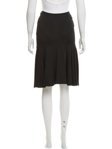 ala 239 a knit knee length skirt clothing al232039 the