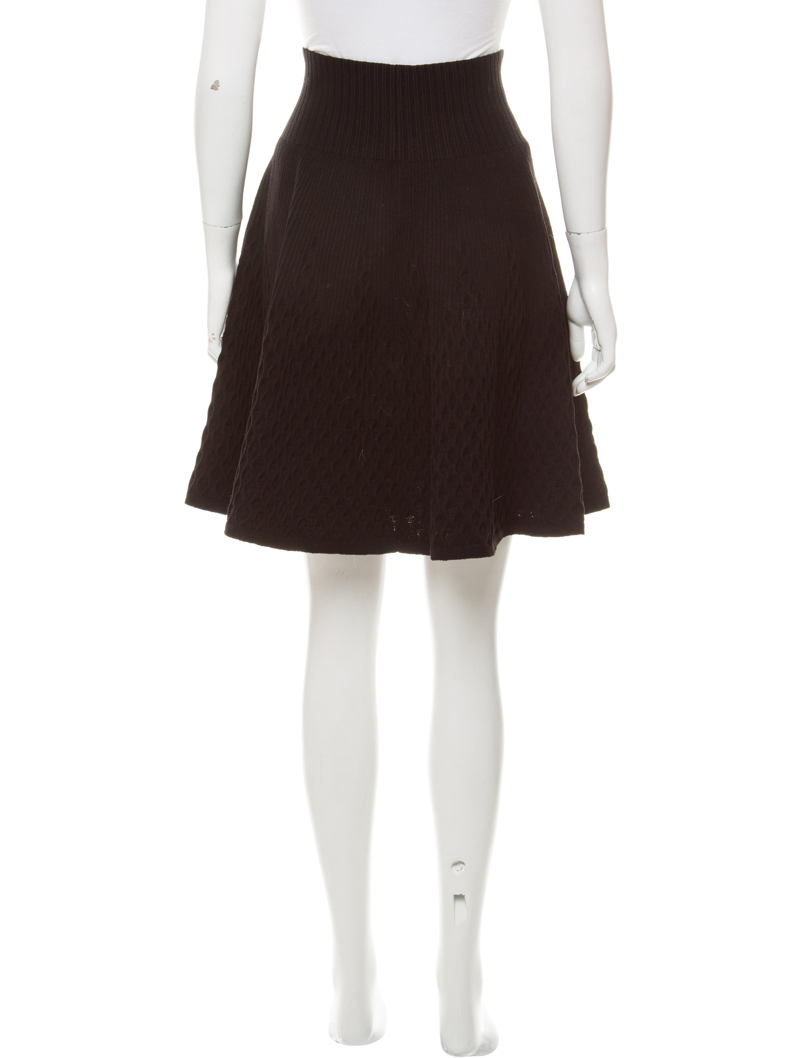 ala 239 a fit and flare knee length skirt clothing