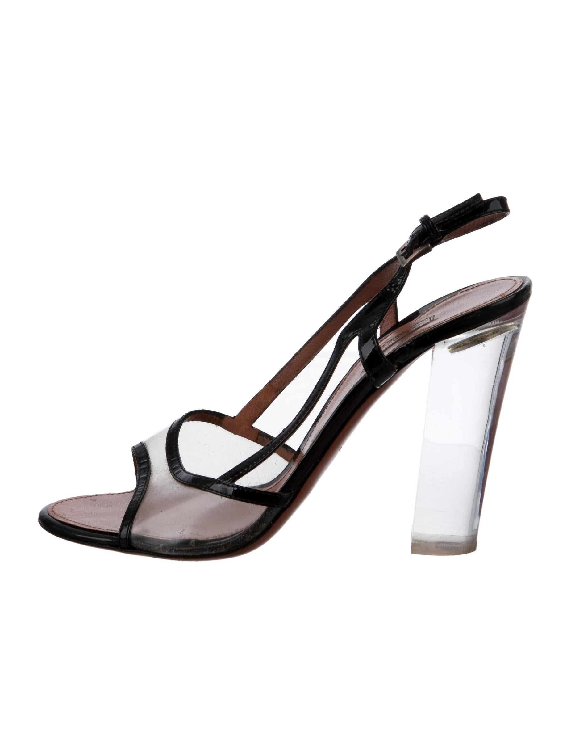 Alaïa PVC Slingback Sandals sale pay with paypal discount latest collections buy cheap exclusive cheap price wholesale price 8UJEm