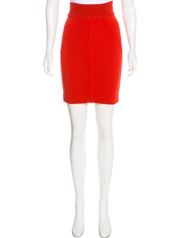 Alaïa Vintage Knit Skirt None