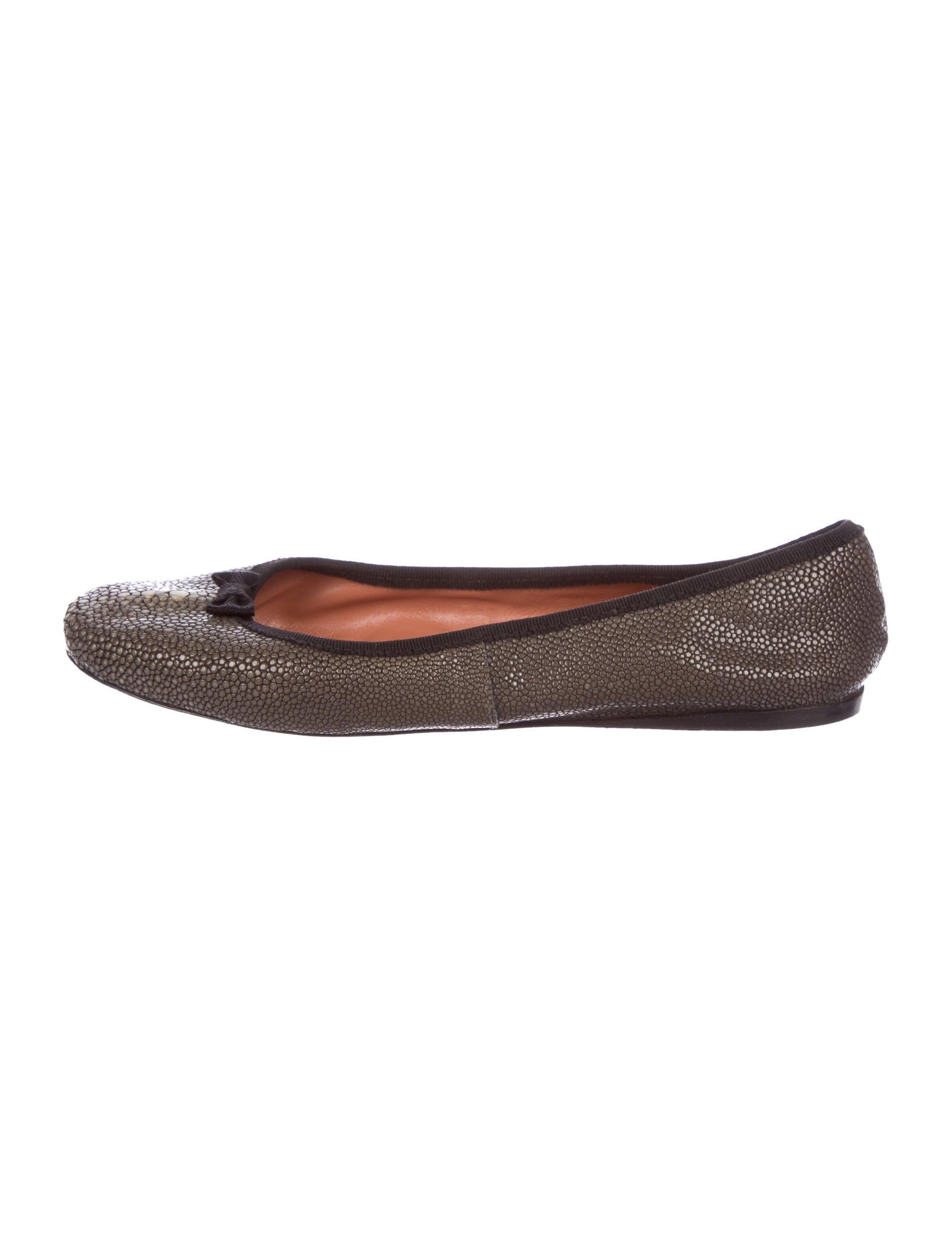Alaïa Stingray Round-Toe Flats discount enjoy OYPXbL3Hx