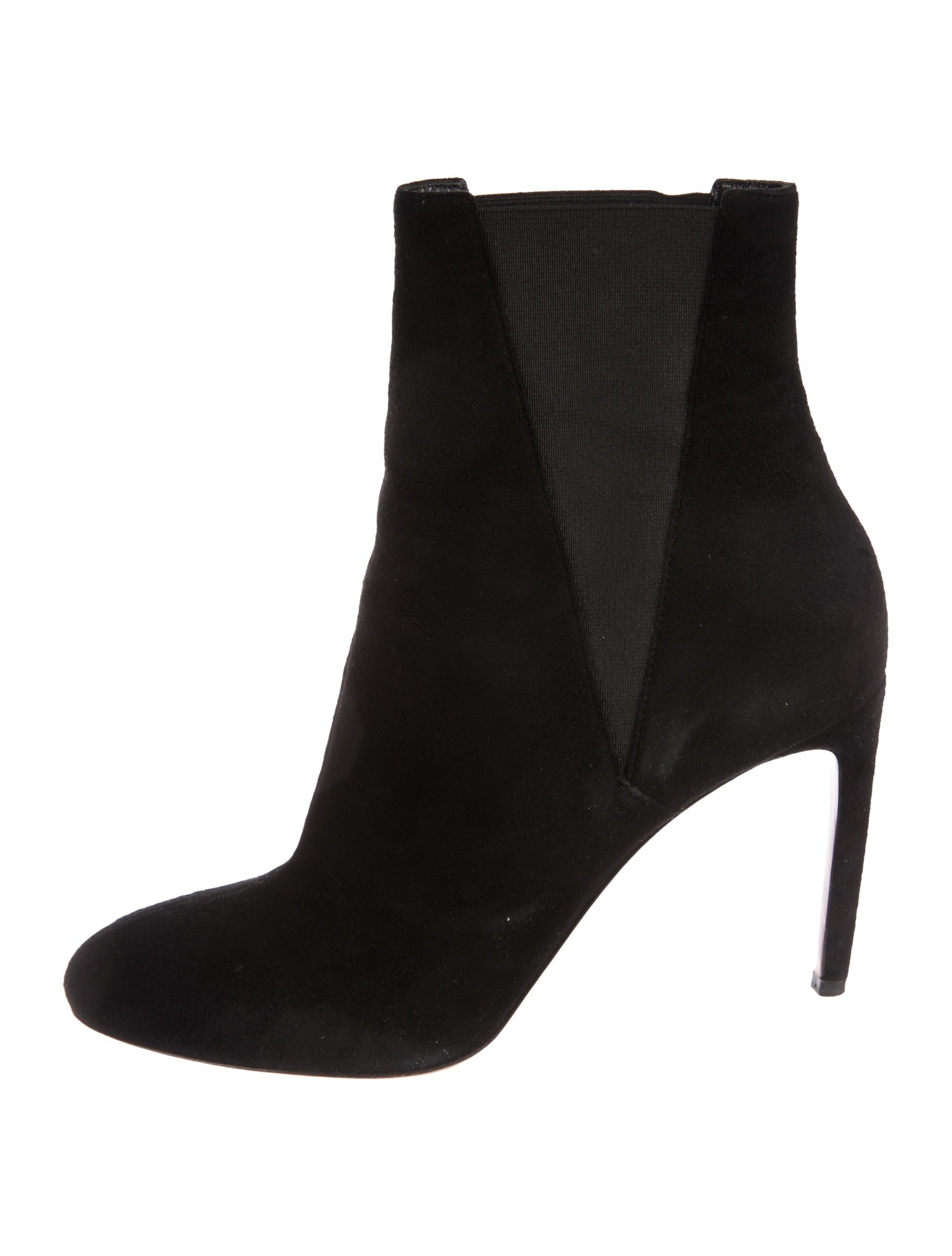 Alaïa Round-Toe Ankle Boots cheap sale high quality UcWl214N0