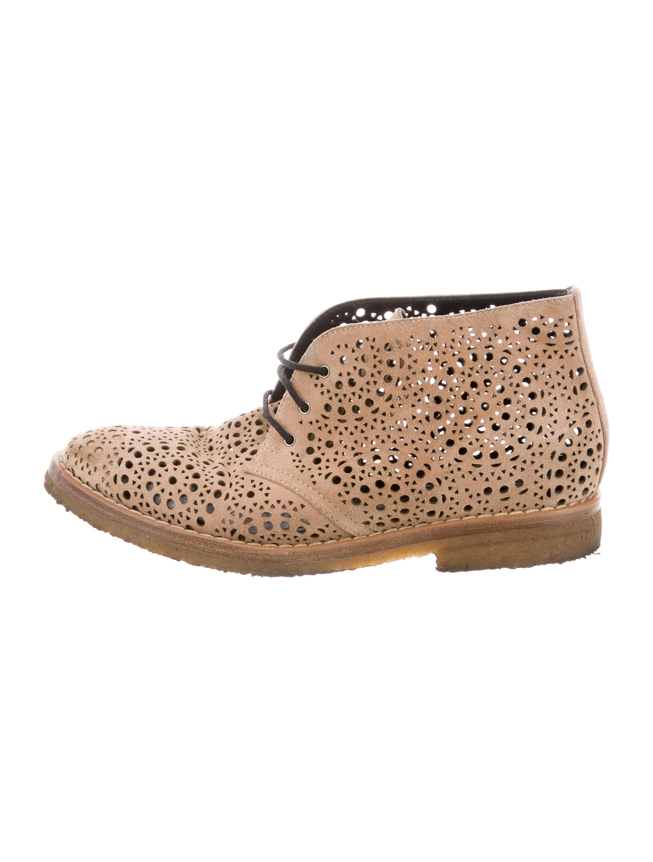 Alaïa Laser Cut Round-Toe Loafers buy cheap looking for bimMLMmR6W