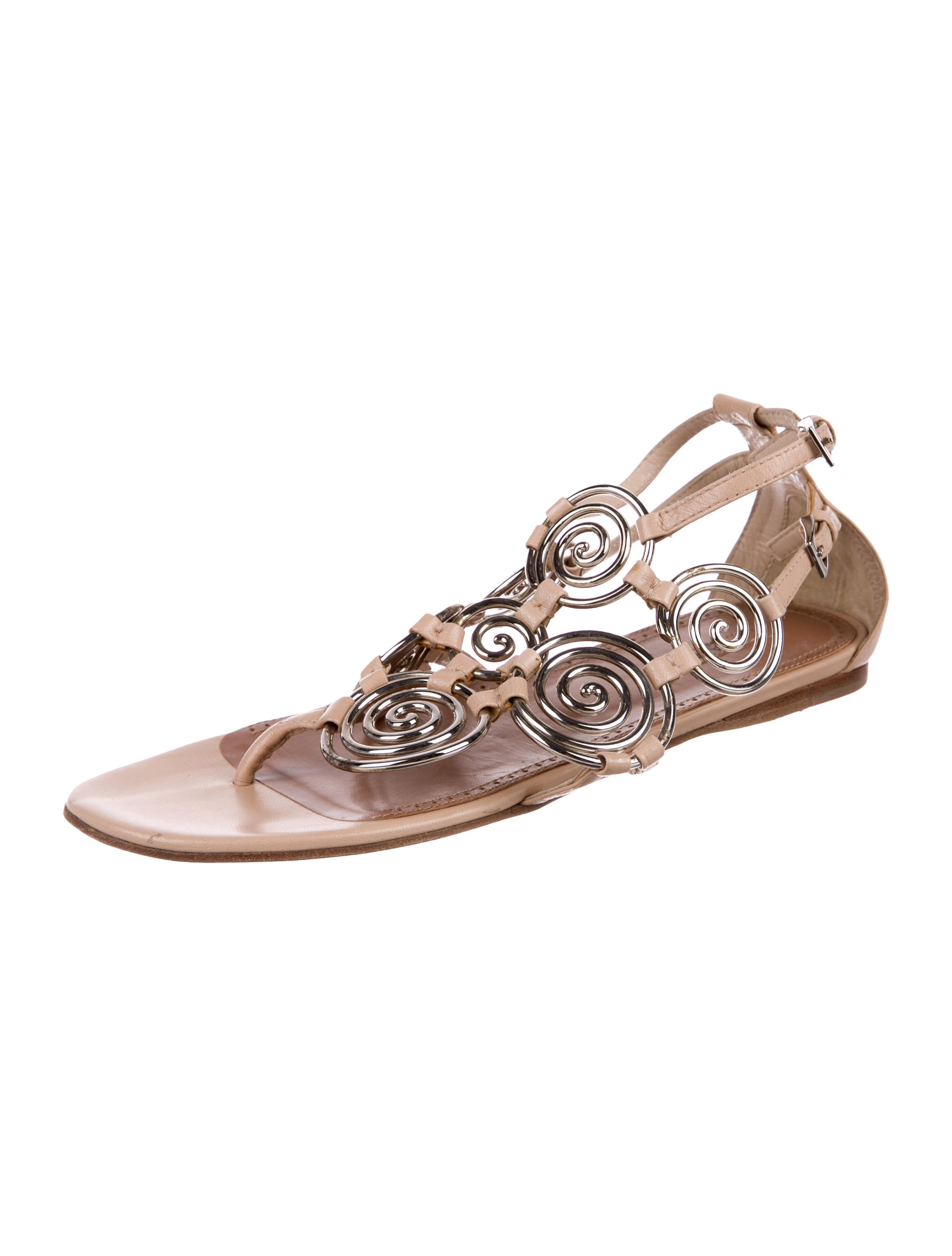 Alaïa Spiral Link Sandals with paypal for sale buy online outlet fashionable cheap online buy cheap low shipping fee h6gGLuHi0