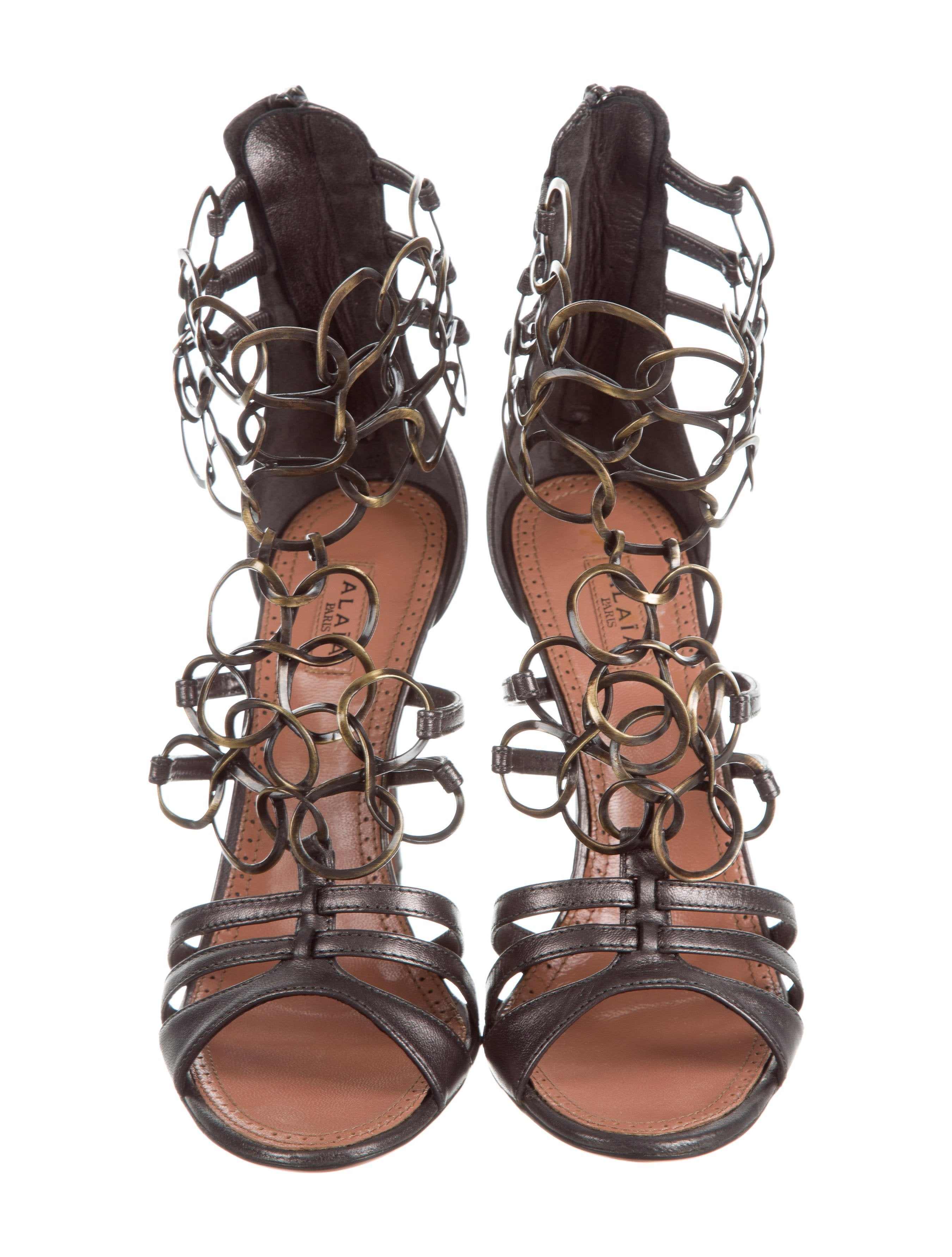 Alaïa Embellished Multistrap Sandals w/ Tags real online shop for cheap price free shipping professional sale new styles outlet latest HEqQN