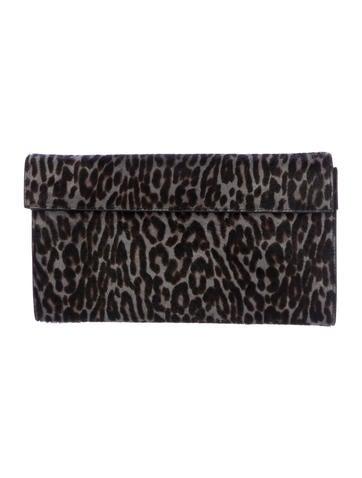 Favorite Alaïa Pony Hair Printed Clutch - Handbags - AL236237 | The RealReal LJ94