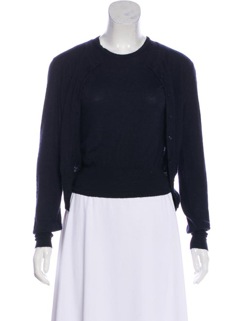 Alaïa Cashmere Knit Cardigan Set