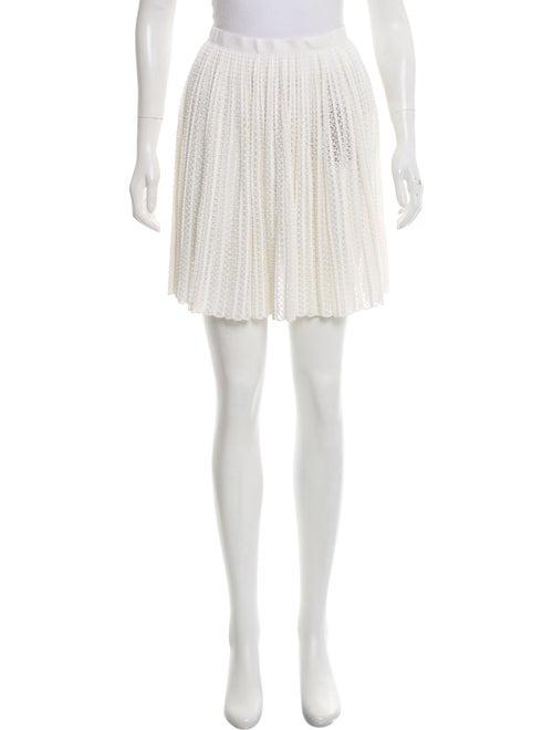 Alaïa Textured Knit Mini Skirt