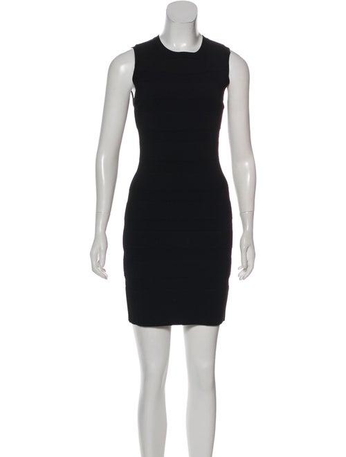Alaïa Sleeveless Bodycon Dress Black