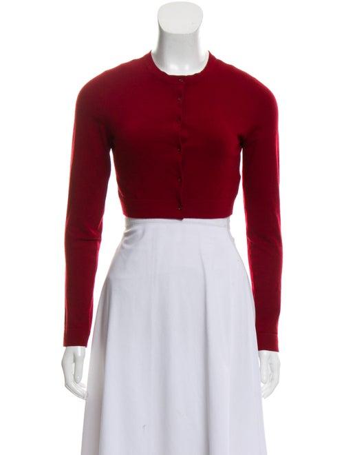 Alaïa Wool Cropped Cardigan