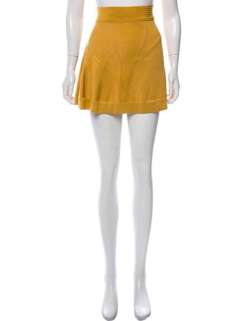 Alaïa A-Line Mini Skirt