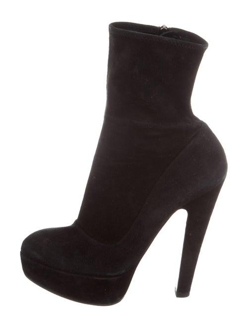Alaïa Platform Ankle Boots Black