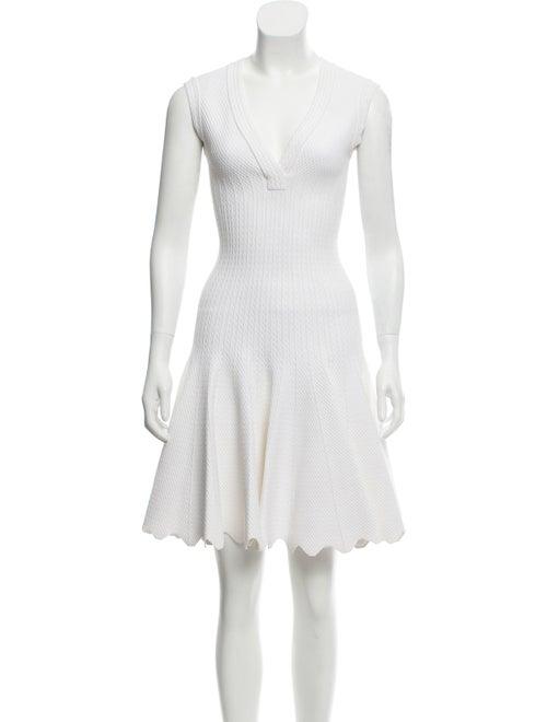 Alaïa Fit and Flare Mini Dress