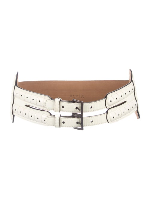 Alaïa Patent Leather Waist Belt