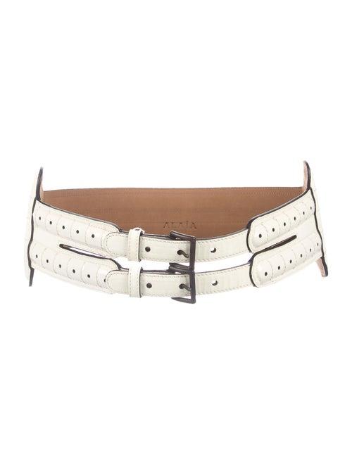 Alaïa Patent Leather Waist Belt