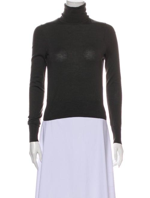 Alaïa Turtleneck Sweater Grey