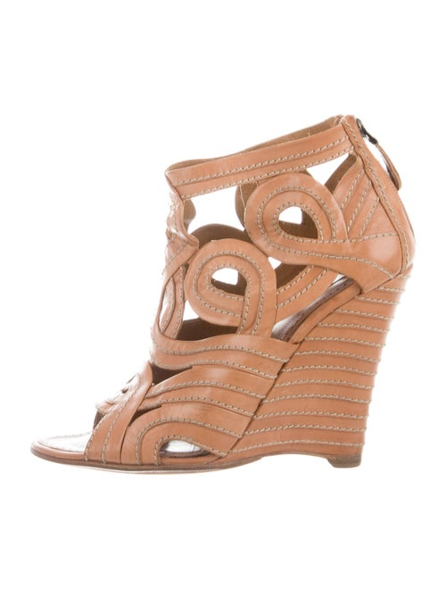 Alaïa Leather Sandals
