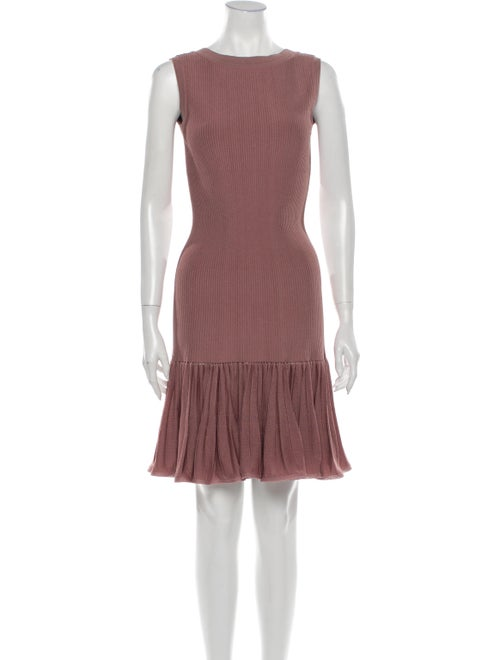 Alaïa Vintage Mini Dress Pink