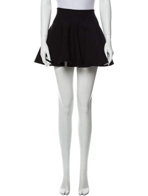 Alaïa Vintage Mini Skirt Black