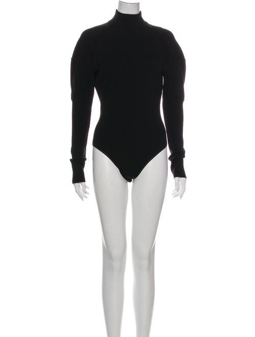 Alaïa Wool Turtleneck Bodysuit Wool