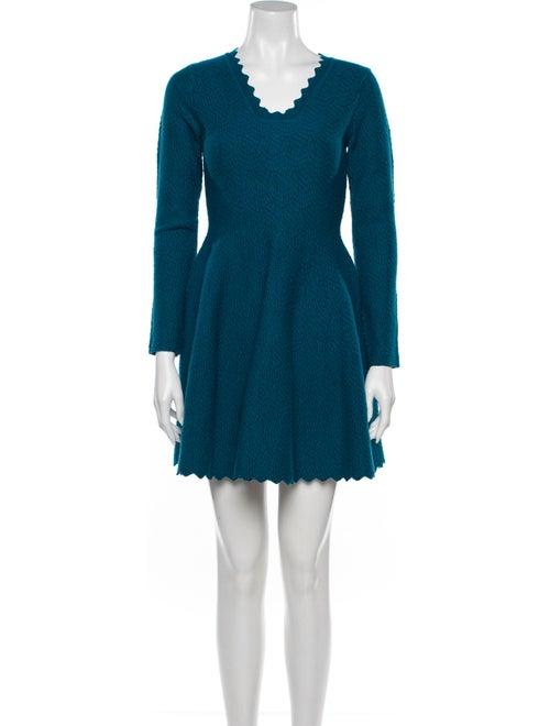 Alaïa Wool Mini Dress Wool