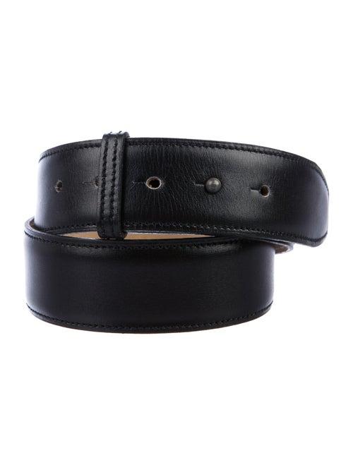 Alaïa Leather Belt Black
