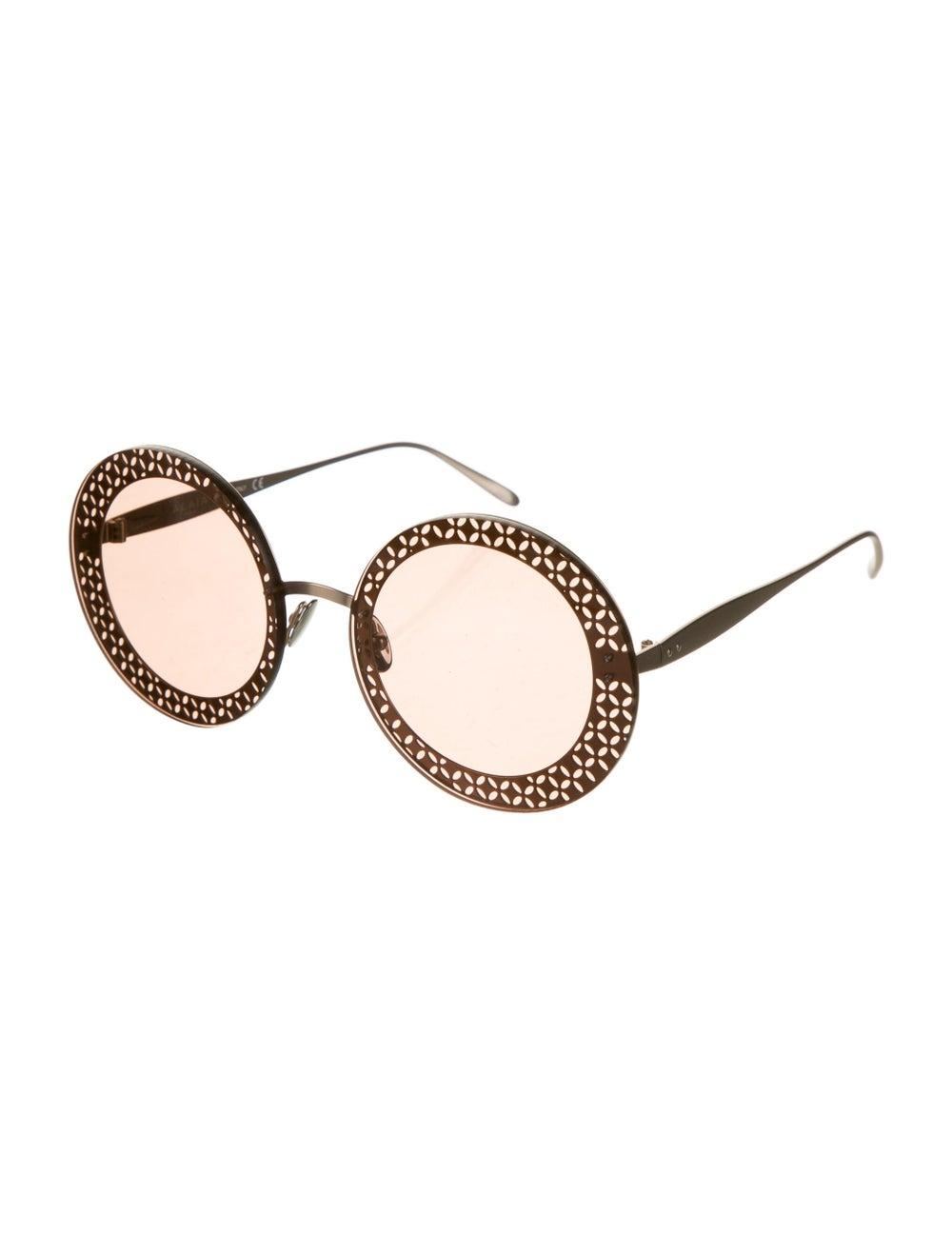 Alaïa Round Tinted Sunglasses - image 2