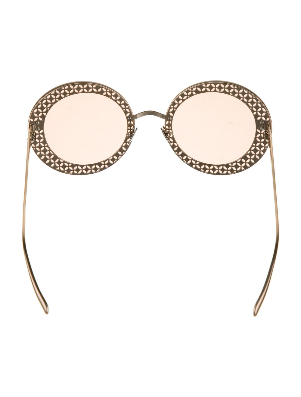 Alaïa Round Tinted Sunglasses - image 3