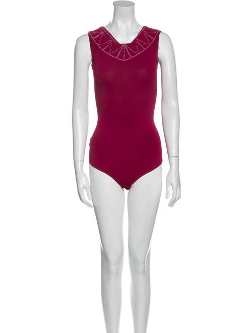 Alaïa 2020 Embroidered Bodysuit Bodysuit - image 1