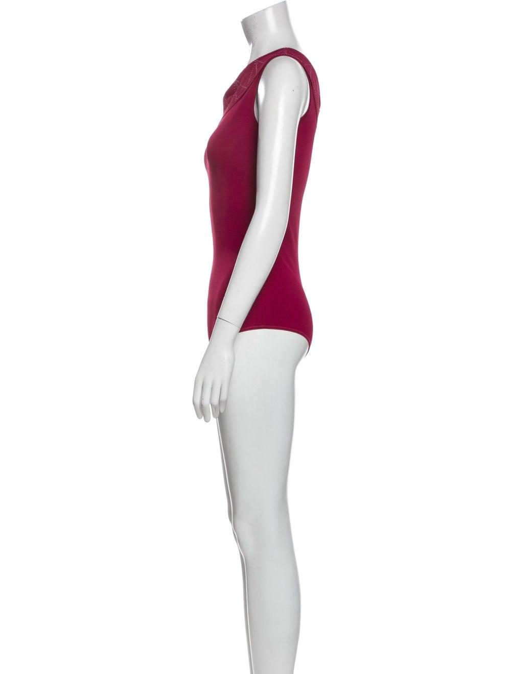 Alaïa 2020 Embroidered Bodysuit Bodysuit - image 2